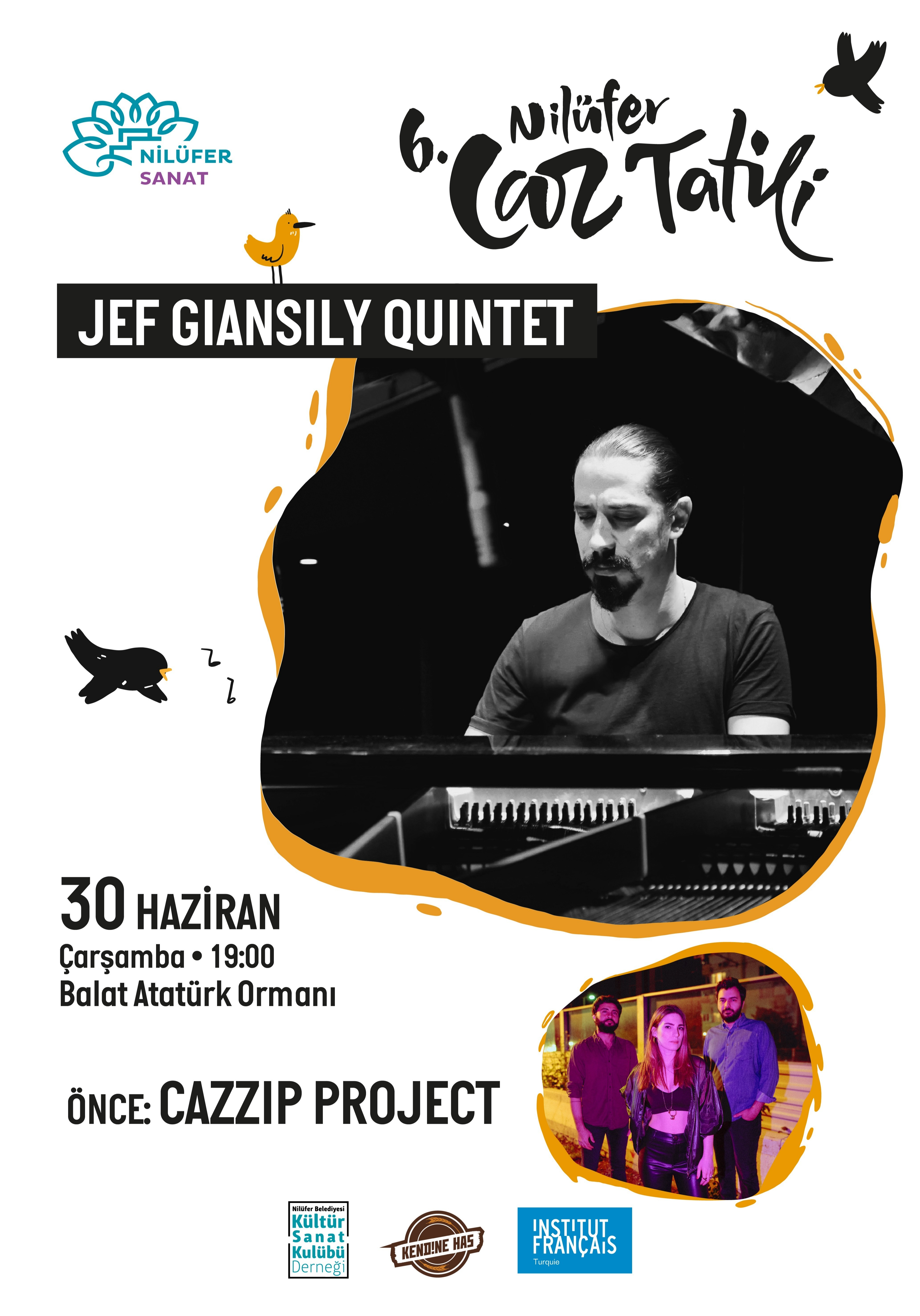 Jef Giansily Quintet // Cazzip Project